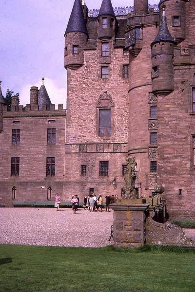 Glamis Castle Scotland 1966
