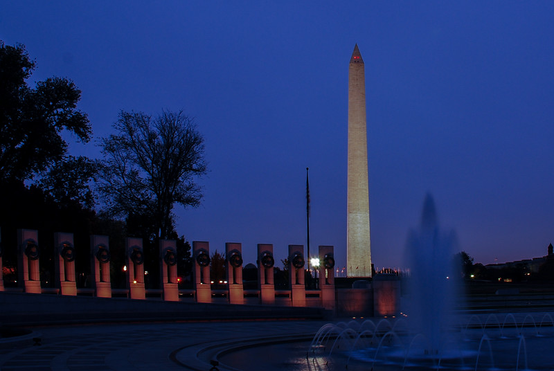 Washington Monument from WW II Memorial