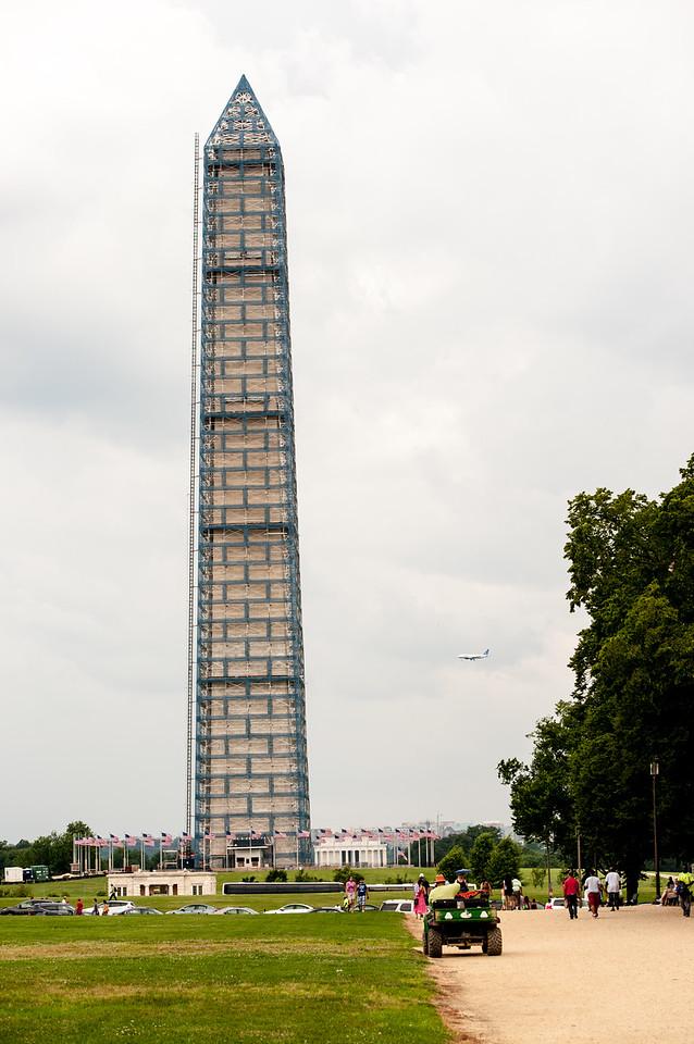 2013 Folklife Festival Washington Monument