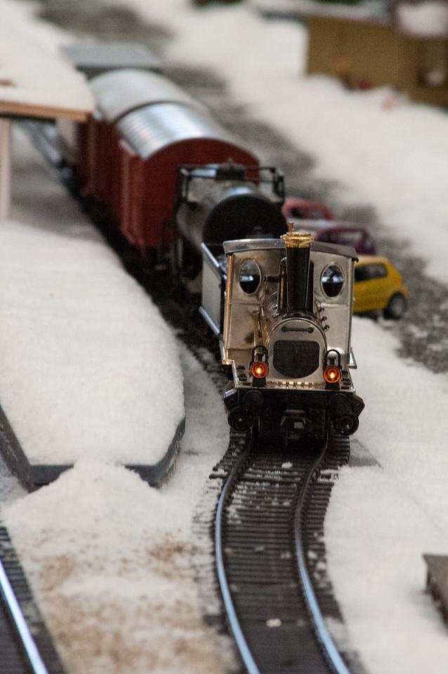 Union Station Christmas Train