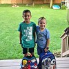 Brothers Connor and Kyle Wilusz. Connor, left, is in Grade 2 at Williams Elementary School, while Kyle attends pre-kindergarten at Busy Bee Learning Center in Lee. PHOTO PROVIDED BY JAMES WILUSZ