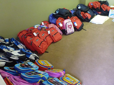 2012 Backpack Distribution