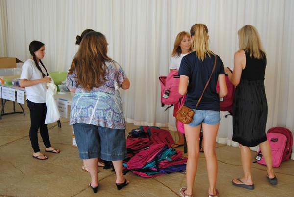 2014 Backpack Distribution