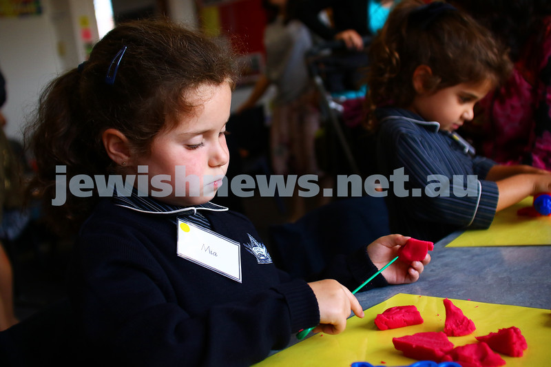 29-1-16. Back to school 2016. Prep students at Beth Rivkah Ladies College. Photo: Peter Haskin