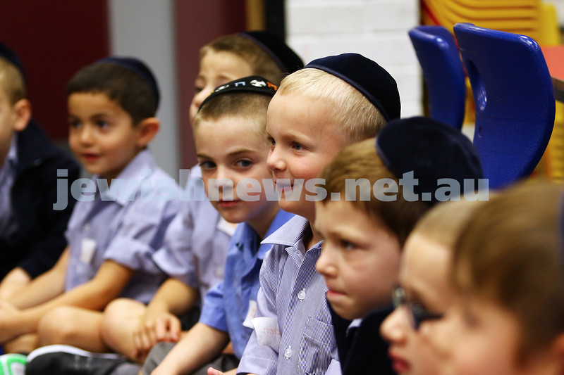 29-1-16. Back to school 2016. Prep students at Yeshivah College. Photo: Peter Haskin