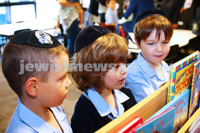 1-2-16. Back to school 2016. Prep students at Mount Scopus, Ganel Besen House. Photo: Peter Haskin