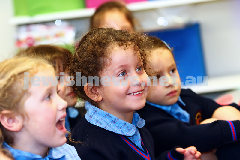 1-2-16. Back to school 2016. Prep students at Sholem Aleichem College. Photo: Peter Haskin