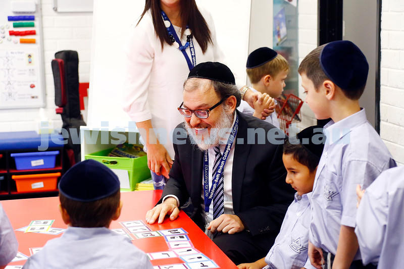 31-1-17. Back to school. Yeshivah College. Photo: Peter Haskin