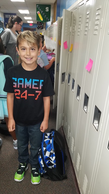 . Ryan Hedger going into 3rd grade at Houghton Elementrey Waterford school district.  Submitted by Amanda Hedger