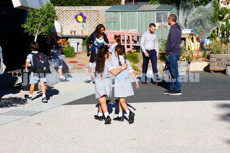 2-2-18. First day of school. Mount Scopus College, Gandel Besen House. Photo: Peter Haskin