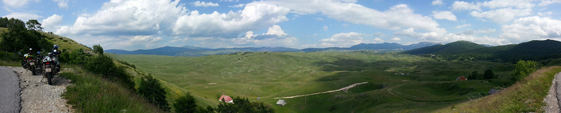 Panoramic view over Durmitor NP