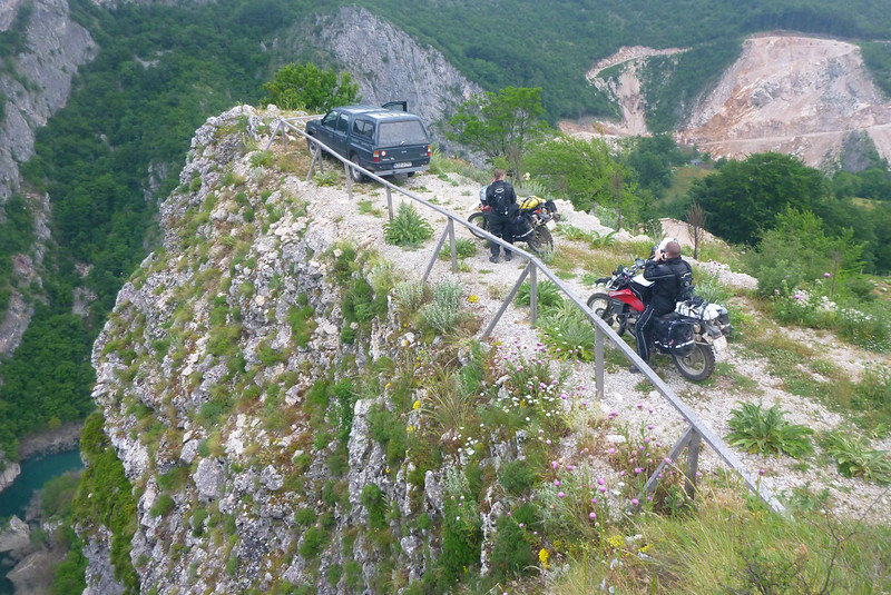 Dizzling heights at Neretva canyon