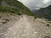 Rough Albanian mountains