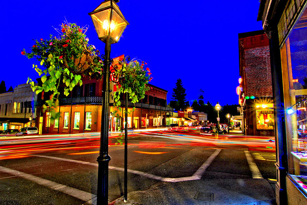 Grass Valley & Nevada City at Night