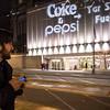 Coke-Pepsi Light Action Westin Hotel Seattle