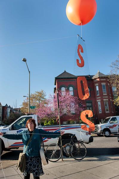 Backbone Campaign Doo-Occupy collaboration in Washington DC