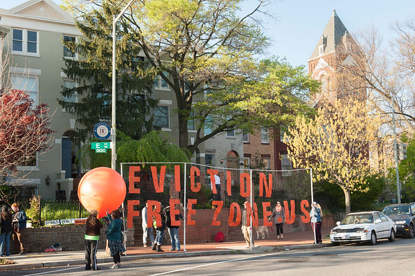 Backbone Campaign 2012 Doo-Occupy DC Day 6a: Eviction-Free-Zone Action
