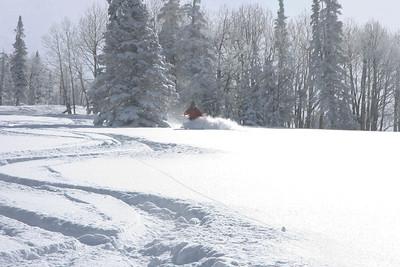 Big Cottonwood Backcountry skiing