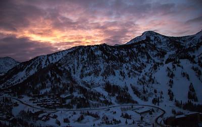 Snowbird Mt Baldy sunrise