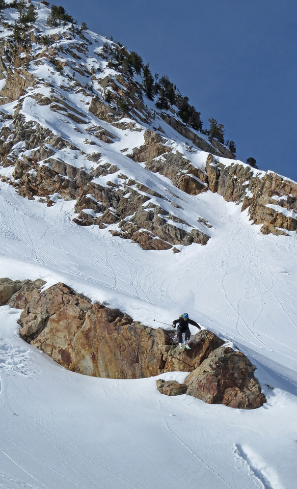 Backcountry Cliff jumps