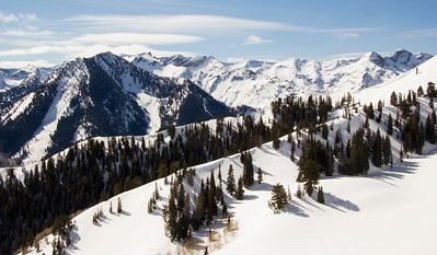 Wasatch mountain Big Cottonwood