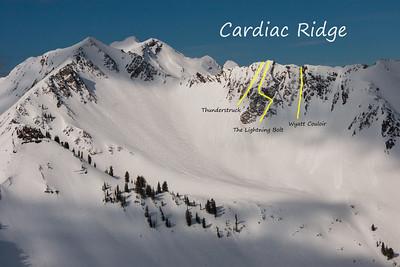 Cardiac Ridge Couloirs