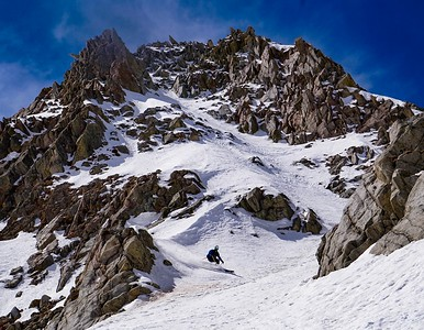 Comstock skis North Couloir Pfeifferhorn