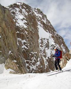 Brian Begins The Pfeifferhorn Descent