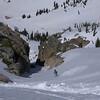 Murph shredding the lower chute on Matterhorn