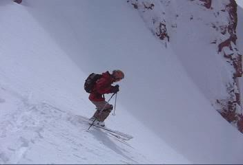 Movie of me dropping Mini Hall.  The conditions were awesome...which was a pleasant surprise.