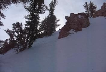 Red Slate Couloir - Movies (Feb 12)