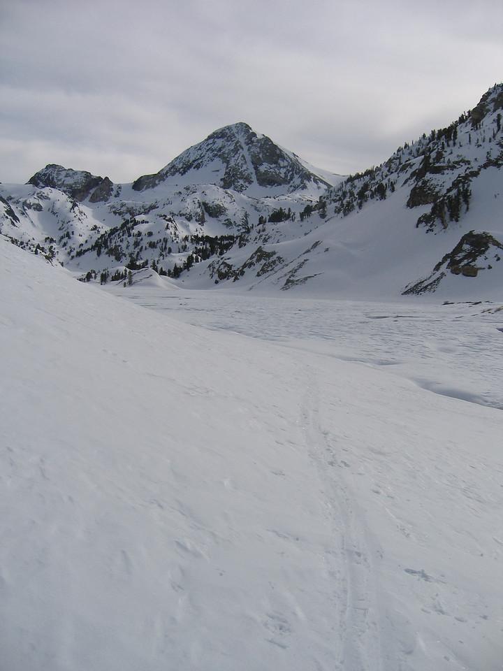 One last view of the peak