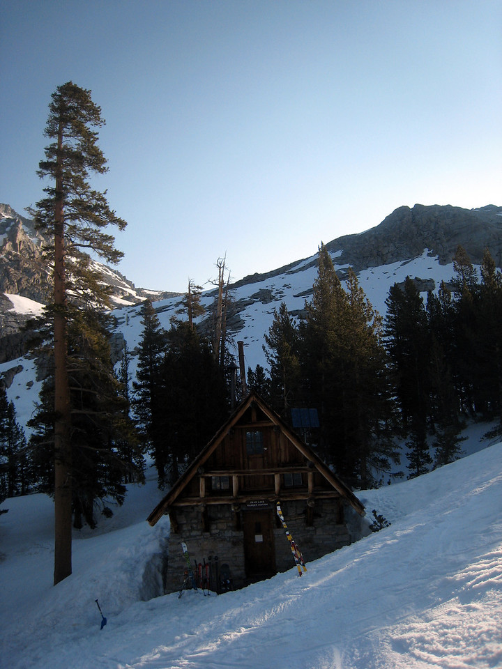 Sunday:<br /> <br /> Another bluebird day with little wind.  I can taste the mountain air just by looking at the pic.