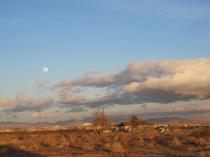 California desert community.