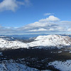Pano - looking at Caples Lake, Lake Tahoe, etc...