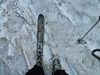 one ski...