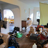 We arrived at Moses' buddy's place in Three Rivers at 1 or so... and were confused about the state of the house.  Some rooms were nicely finished, while others were a mess.  We were trying to figure out what happened to this place, and concluded that someone was in the middle of packing, then decided to leave everything behind... including the milk.