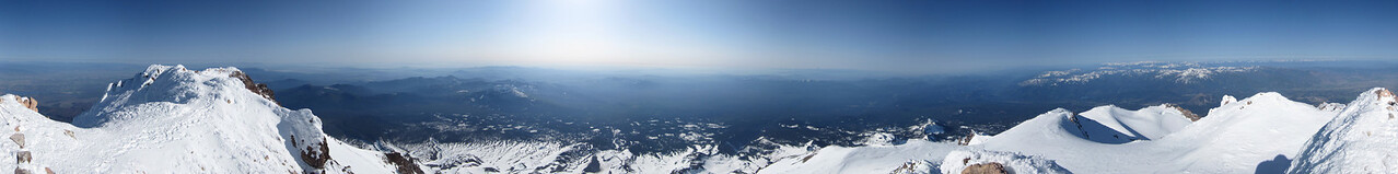 Summit - Stitched Panorama