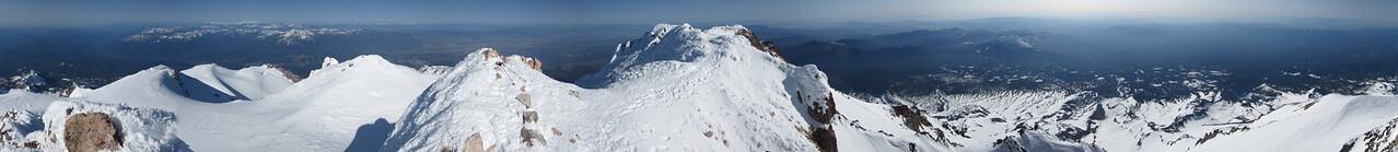 Summit Shot - Stitched Panorama