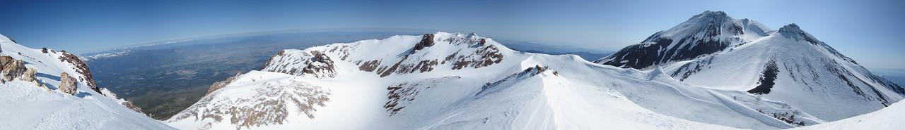 Shastina Summit - Stitched Panorama