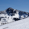 from Eric O.  the backside of Tallac... off of Kalmia Ridge.  That middle chute on a big year...