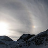 22 deg halo w/ sundog on Red Slate Mtn.