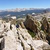 Tuolumne traverse of Cathedral Peak, Echo Peak, the Cock's Comb and Unicorn peak