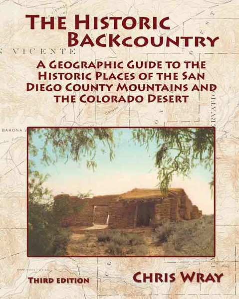 For information about ordering The Historic Backcountry book please e-mail me at cptwray@yahoo.com. The book sells for $50 including tax and shipping. Thanks.