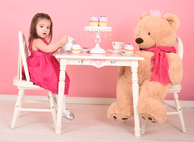 Vintage Tea Party with Teddy