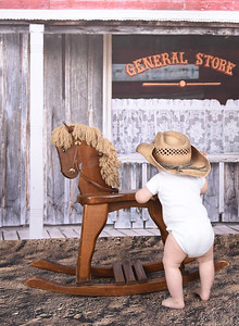 Old Saloon Backdrop with Dirt Floor