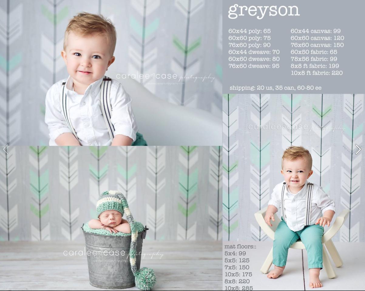 Greyson Mint Arrows Drop