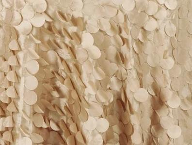 Gold Round Petals Drape Backdrop