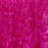 Fuchsia Rosette Satin Drape Backdrop