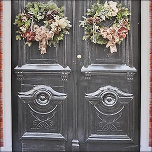 Wreath Door